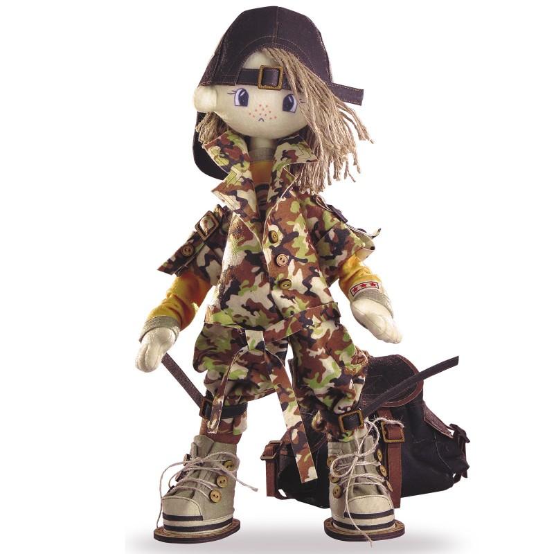 """Набір для шиття інтер'єрної каркасної ляльки """"Сафарі. Брат 2"""""""