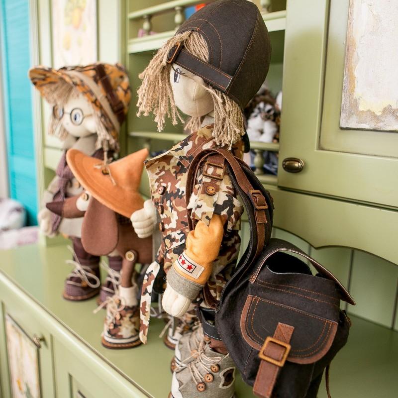 """Nova Sloboda - Набір для шиття інтер'єрної каркасної ляльки """"Сафарі. Брат 2"""" / фото №879"""