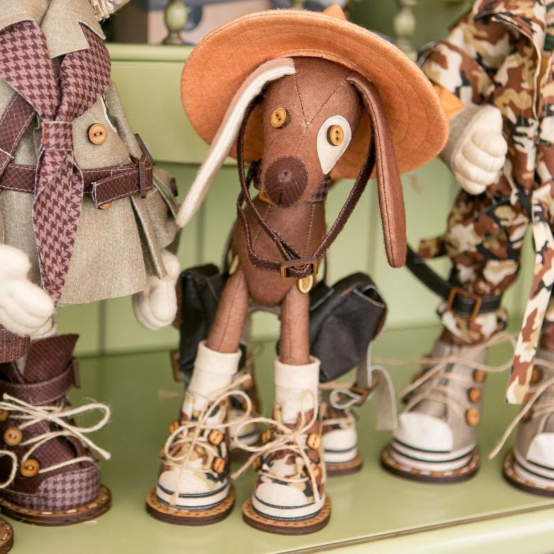 """Nova Sloboda - Набір для шиття інтер'єрної каркасної ляльки """"Сафарі.Дружок"""" / фото №885"""