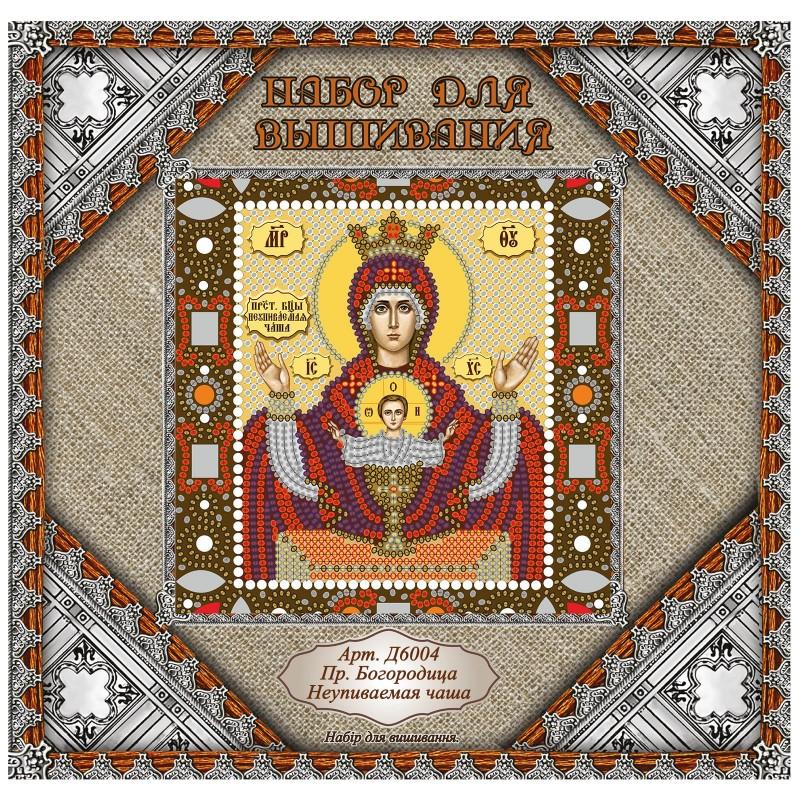 "Nova Sloboda - Набiр для вишивання iкони ""Богородиця «Неупиваєма чаша»"" / фото №893"