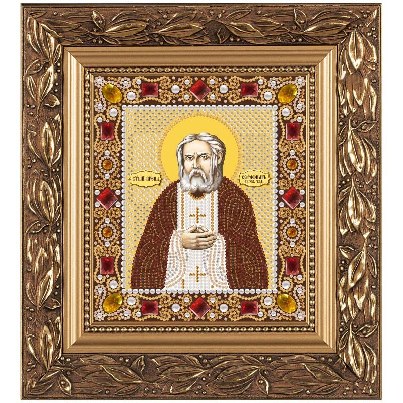 """Набiр для вишивання iкони """"Св. Прп. Серафим Саровський"""""""