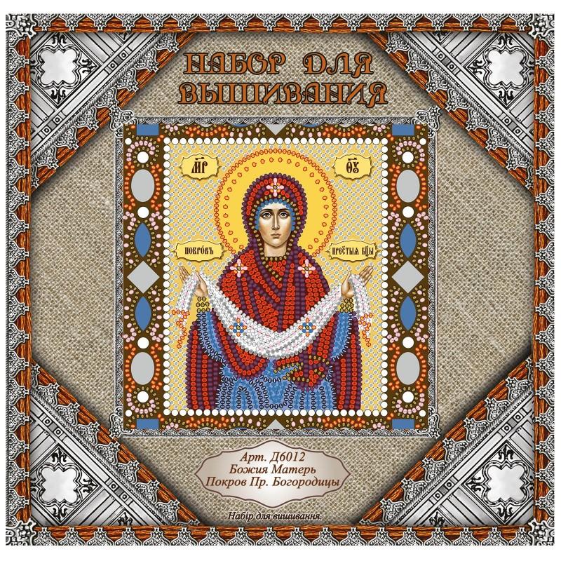 """Nova Sloboda - Набiр для вишивання iкони """"Покров Пресвятої Богородиці"""" / фото №910"""