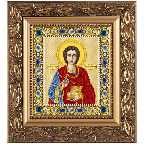 """Набор для вышивки иконы """"Св. Вмч. Целитель Пантелеимон"""""""