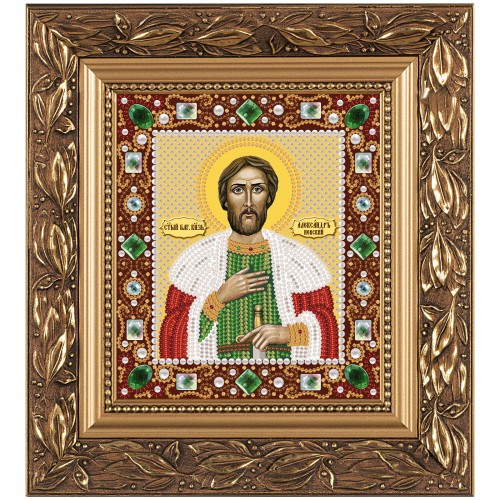 """Набiр для вишивання iкони """"Св. Блгв. Великий Князь Олександр Невський"""""""