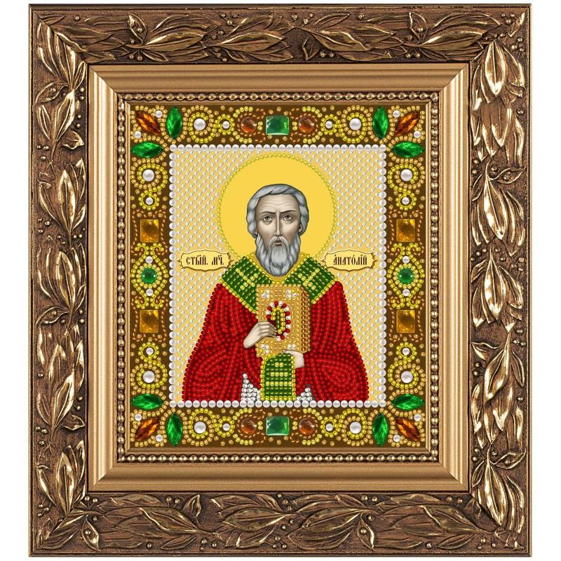 """Набiр для вишивання iкони """"Свт. Анатолій Патріарх Константинопольський"""""""