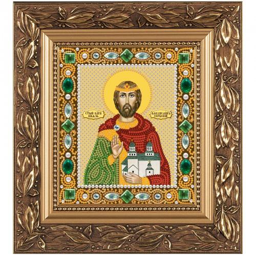 """Набiр для вишивання iкони """"Св. Блгв. Владислав Князь Сербський"""""""