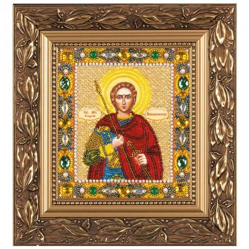 """Набiр для вишивання iкони """"Св. Вмч. Георгій Переможець"""""""